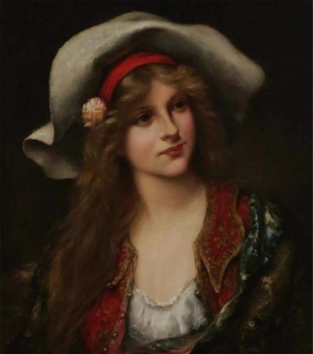 丰腴曼妙的西方女性人体油画,每一幅都散发着高贵与典雅的气息