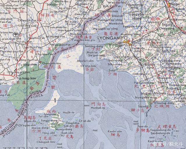 图们江出海口的归属_朝鲜的得寸进尺,让中国几乎失去了鸭绿江的出海口 - 雪花新闻