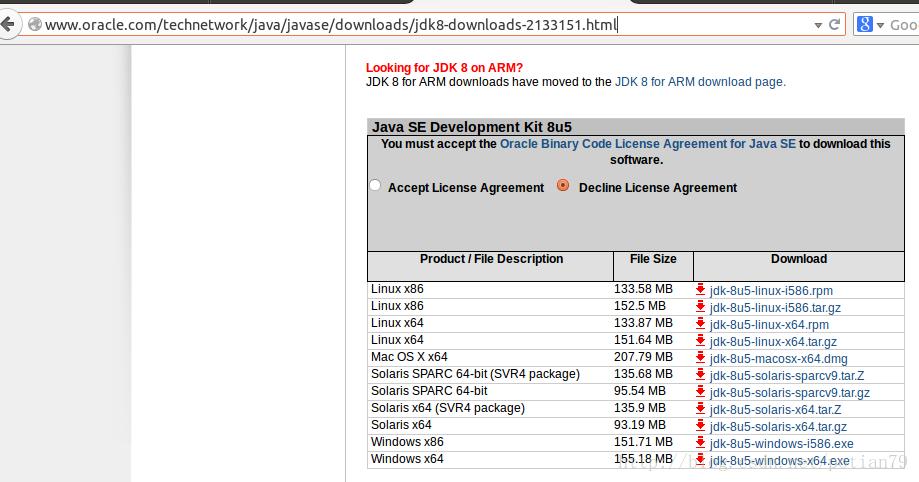 ubuntu12-04-4安裝java1 8 5 - 台部落
