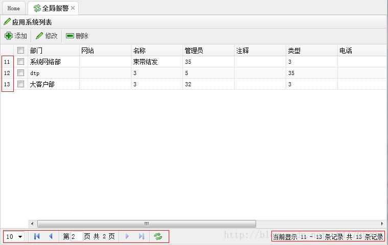jquery easyui datagrid 分頁詳解- 台部落
