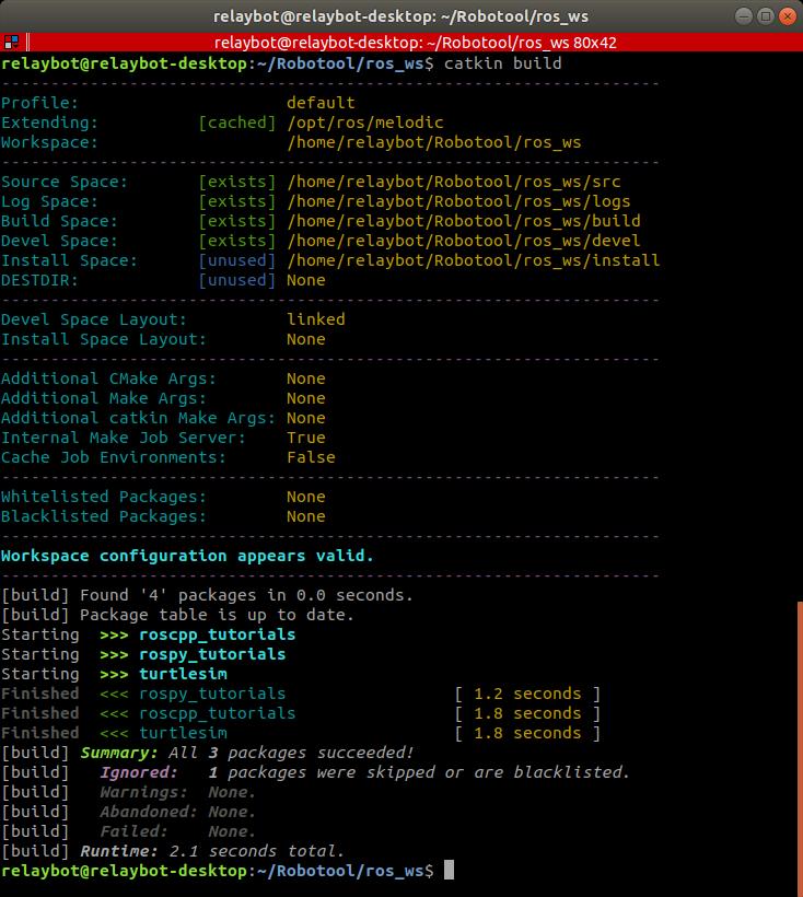 在Ubuntu 18 04 LTS入门ROS Melodic版机器人操作系统- 台部落