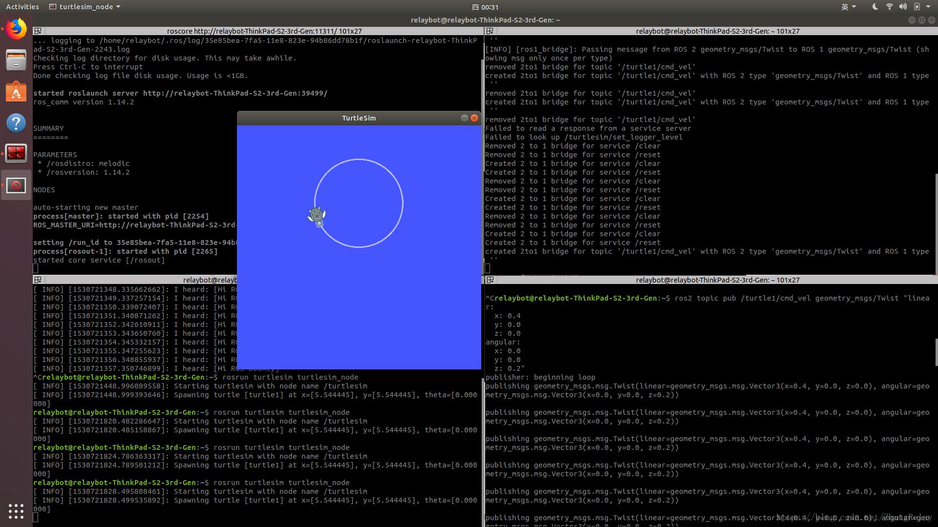 在Ubuntu 18 04 LTS安裝ROS 2 Bouncy版機器人操作系統- 台部落