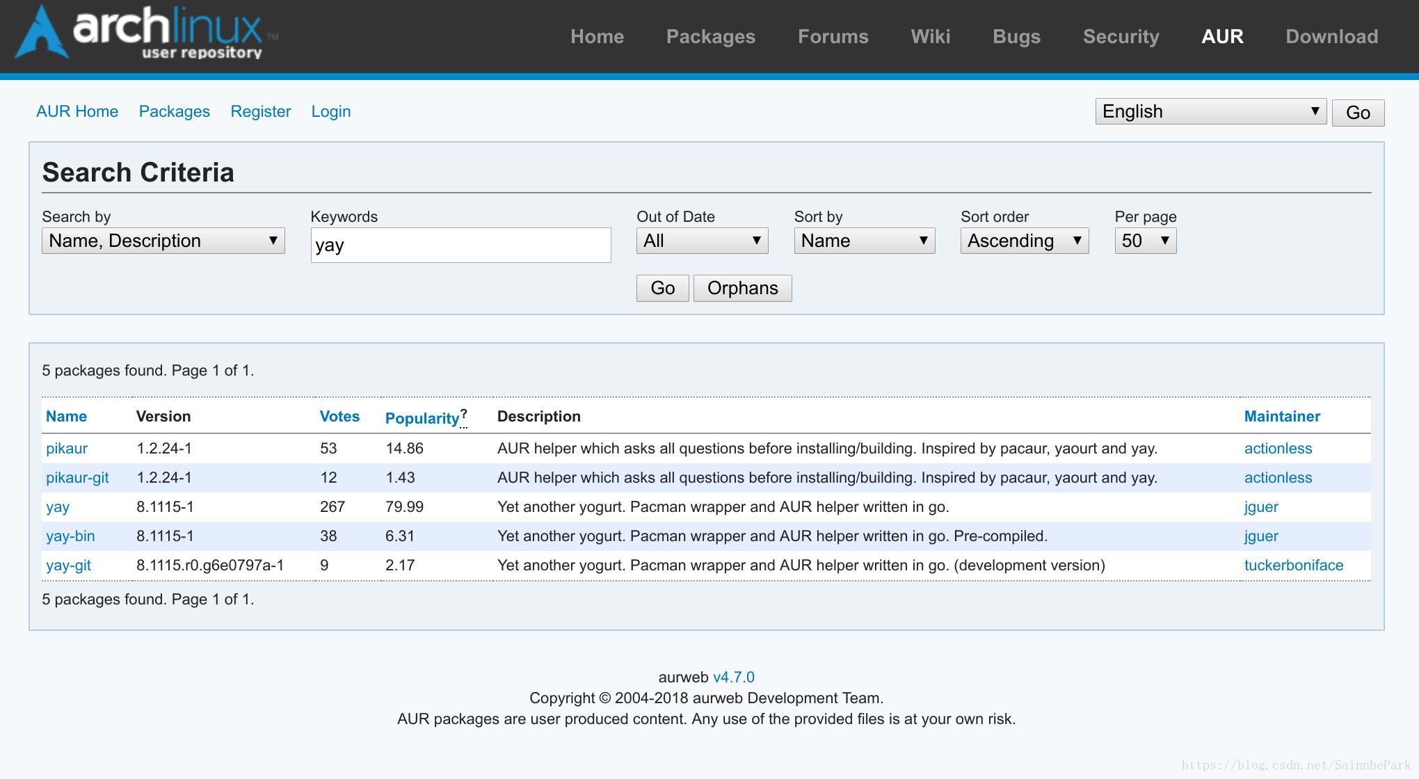 关于archlinux在termux中使用AUR的解决方案- 台部落