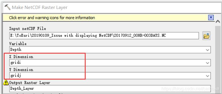 NetCDF位置显示错误解决方案- 台部落