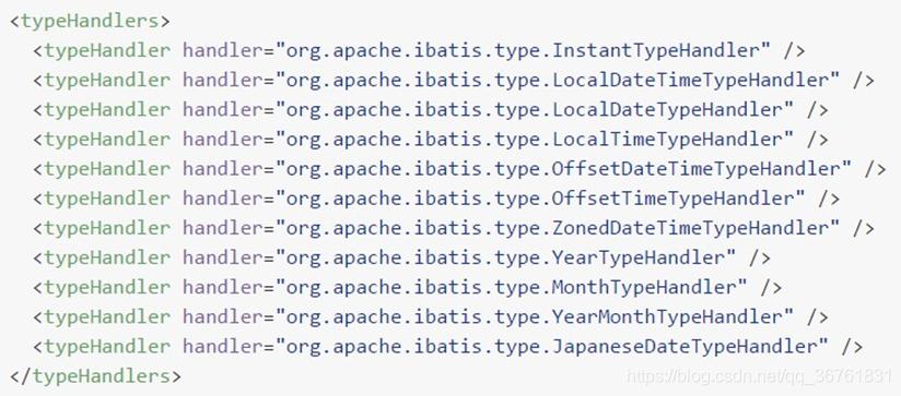 MyBatis typeHandlers元素標籤及其屬性、設置- 台部落
