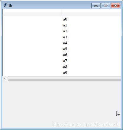 關於tkinter的水平滾動條Scrollbar無法移動的問題- 台部落