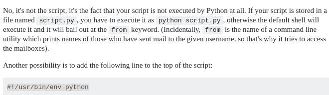 rosrun python腳本提示